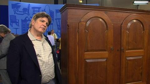 Antiques Roadshow -- S14 Ep7: Fake Schrank Pennsylvania Cabinet: Owner Interview