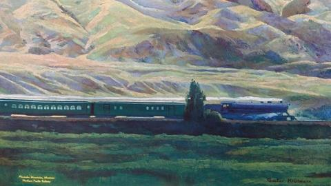 Antiques Roadshow -- S15 Ep12: Appraisal: Northern Pacific Railway Poster, ca. 19