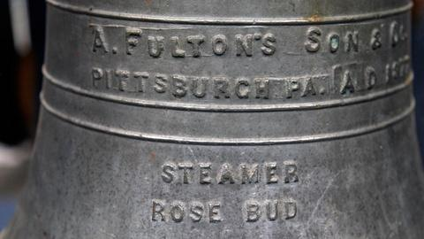 Antiques Roadshow -- S15 Ep19: Appraisal: 1877 Cast Paddle Steamer Bell from the