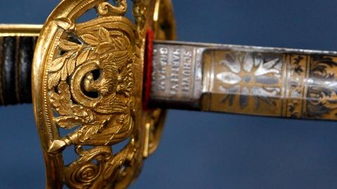 Antiques Roadshow -- S16 Ep2: Appraisal: United States of Colombia Sword, ca. 186