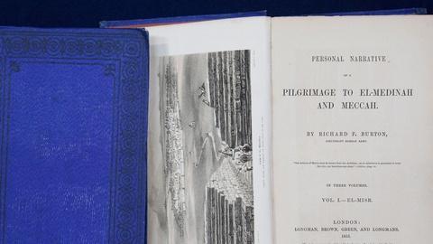 "Antiques Roadshow -- S15 Ep4: Appraisal: 1855 Richard Burton ""Pilgrimage to Mecca"