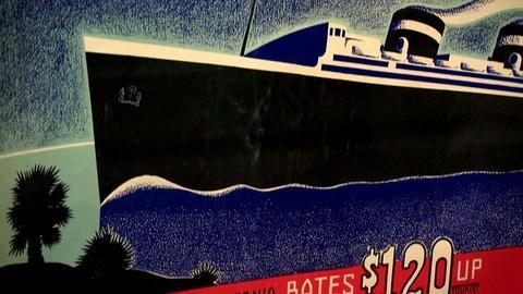 Antiques Roadshow -- S16 Ep2: Appraisal: 1937 Art Deco Ocean Liner Posters