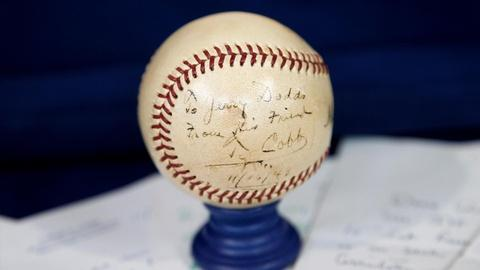 Antiques Roadshow -- S16 Ep4: Appraisal: Signed Ty Cobb Archive, ca. 1952