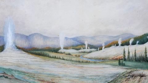 "Antiques Roadshow -- S15 Ep10: Appraisal: 1883 Arthur Brown ""Yellowstone"" Waterco"