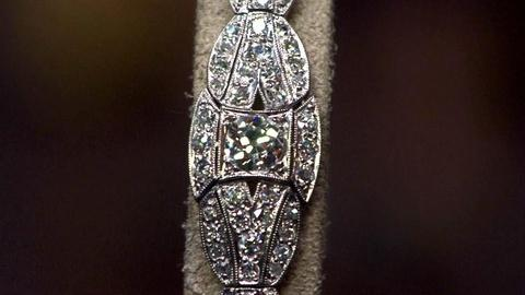 Antiques Roadshow -- S16 Ep11: Appraisal: Art Deco Diamond & Platinum Bracelet