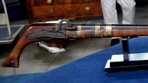 Antiques Roadshow -- S15 Ep18: Appraisal: Korean Matchlock Musket, ca. 1800