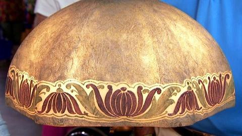 Antiques Roadshow -- S16 Ep10: Appraisal: Handel Bronze Lamp, ca. 1900
