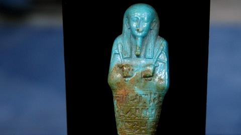 Antiques Roadshow -- S15 Ep10: Appraisal: 26th Dynasty Ushabti Figure, ca. 550 BC