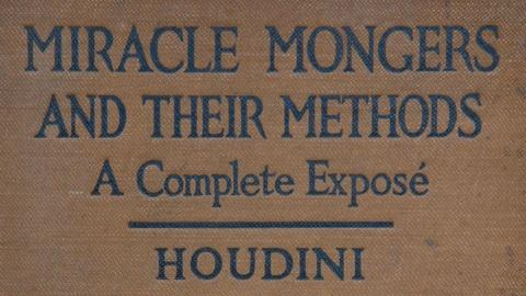 Antiques Roadshow -- S15 Ep7: Appraisal: 1920 Inscribed Harry Houdini Book