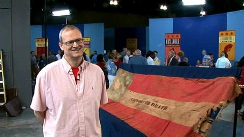 Antiques Roadshow -- S13 Ep17: Owner Interview: 15-Star Confederate Flag, ca. 186