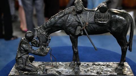 Antiques Roadshow -- S15 Ep17: Appraisal: Charles Schreyvogel Bronze, ca. 1903