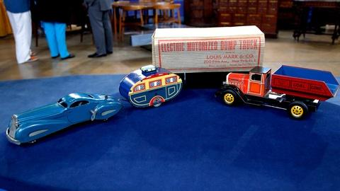 Antiques Roadshow -- S16 Ep6: Appraisal: Marx Car & Battery Powered Dump Truck, c