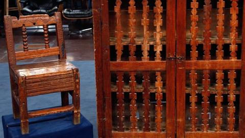 Antiques Roadshow -- S16 Ep12: Appraisal: 19th C. Spanish Colonial Chair & Traste