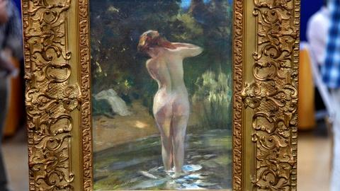 Antiques Roadshow -- S16 Ep6: Appraisal: Irving Ramsey Wiles Oil Painting, ca. 19
