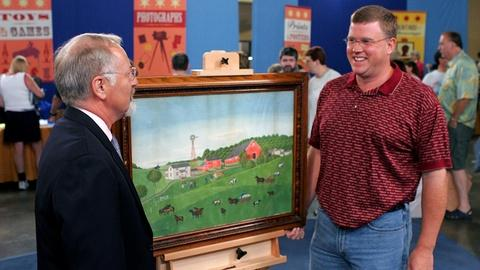 Antiques Roadshow -- S10 Ep10: Appraisal: 1896 Watercolor Farm Portrait