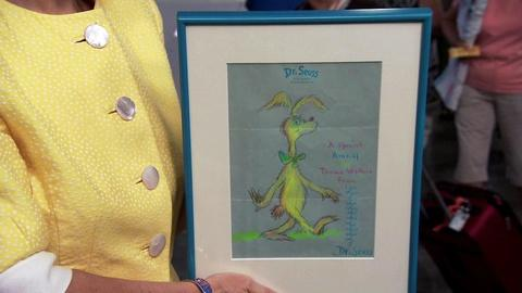 Antiques Roadshow -- S15 Ep19: Appraisal: Dr. Seuss Signed Drawing
