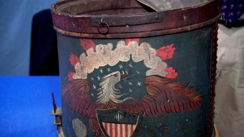 Antiques Roadshow -- S15 Ep19: Appraisal: 1823 Pennsylvania Militia Drum