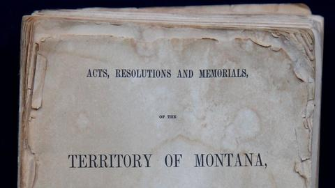 Antiques Roadshow -- S15 Ep12: Appraisal: 1866 Laws of Montana Territory Book