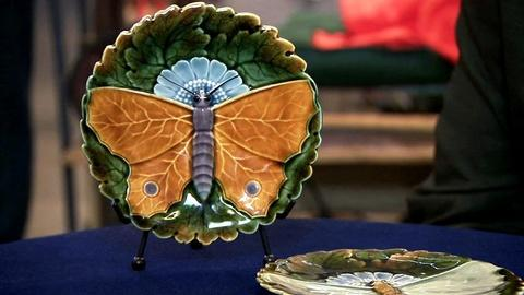 Antiques Roadshow -- S16 Ep8: Appraisal: Continental Majolica Plates, ca. 1900