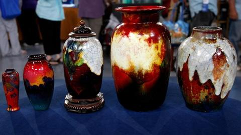 Antiques Roadshow -- S16 Ep1: Appraisal: Royal Doulton Vases, ca. 1920
