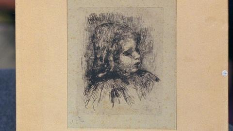 Antiques Roadshow -- S15 Ep21: Appraisal: First Impression Pierre Renoir Etching