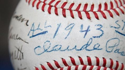 Antiques Roadshow -- S15 Ep14: Appraisal: 1943 NL All-Star Team Signed Baseball