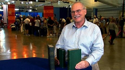 Antiques Roadshow -- S16 Ep8: Owner Interview: Charles Darwin First Editions