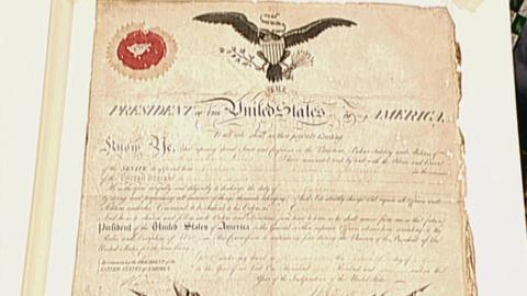 Antiques Roadshow -- S21 Ep21: Appraisal: 1802 Meriwether Lewis Officer Commissio