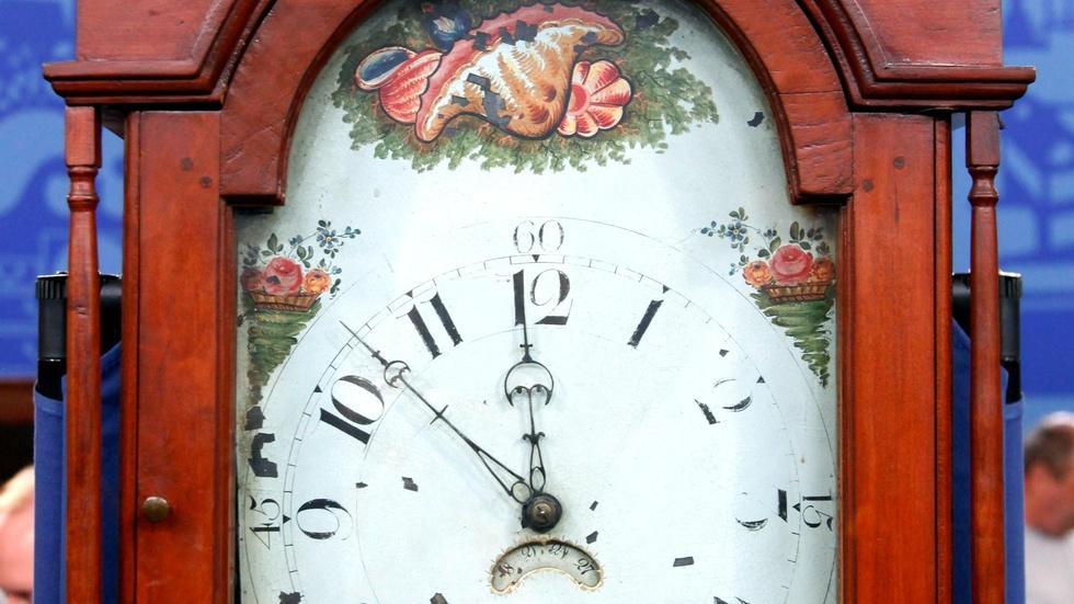 S16 Ep7: Appraisal: Jacob Cope Grandfather Clock, ca. 1820 image
