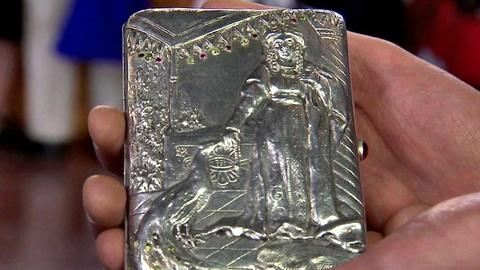 Antiques Roadshow -- S16 Ep10: Appraisal: Early 20th-Century Russian Silver Gem-s