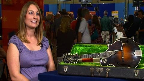 Antiques Roadshow -- S16 Ep2: Owner Interview: 1924 Gibson F-5