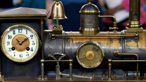 Antiques Roadshow -- S15 Ep15: Appraisal: French Industrial Clock, ca. 1890