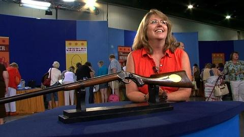Antiques Roadshow -- S14 Ep2: Owner Interview: Engraved Sharps Pistol Rifle with