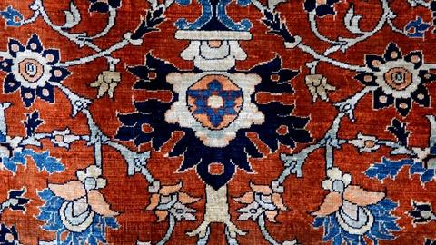 Antiques Roadshow -- Appraisal: Silk Persian Tabriz Rug, ca. 1890