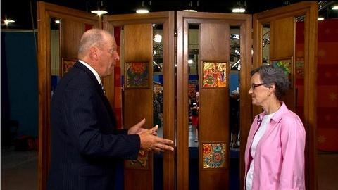 Antiques Roadshow -- Web Appraisal: 1960 Edith Meyer Enamel Screen