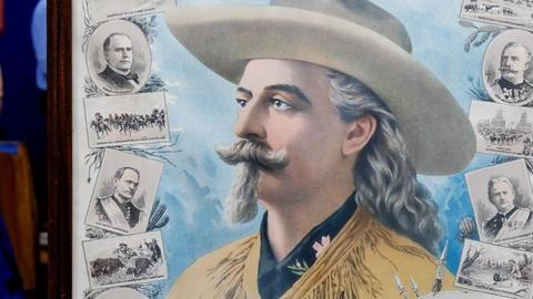 Antiques Roadshow -- S15 Ep13: Appraisal: 1899 Buffalo Bill Poster