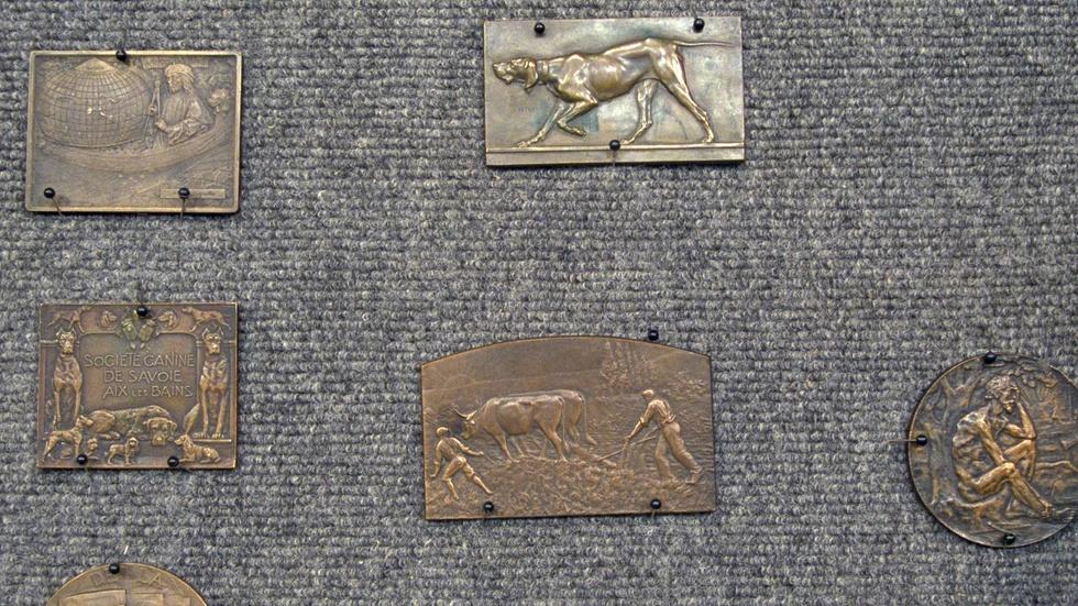 Appraisal: Bronze Medallions, ca. 1910 image