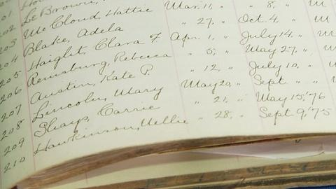 Antiques Roadshow -- S17 Ep20: Appraisal: Mary Lincoln Asylum Sign-in Sheet