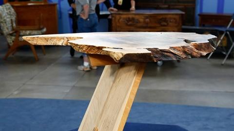 Antiques Roadshow -- S18 Ep1: Appraisal: 1974 Signed George Nakashima End Table