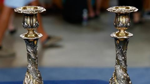 Antiques Roadshow -- S18 Ep1: Appraisal: Tiffany & Company Candlesticks, ca. 1895