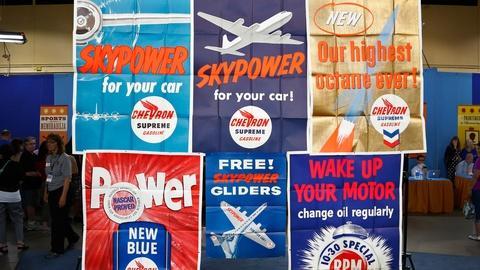 Antiques Roadshow -- S18 Ep1: Appraisal: Chevron Gas Posters, ca. 1956
