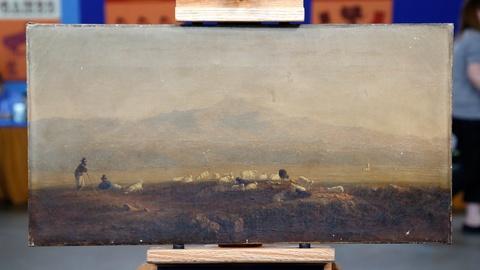 Antiques Roadshow -- S18 Ep1: Appraisal: 1858 Sanford Robinson Gifford Oil