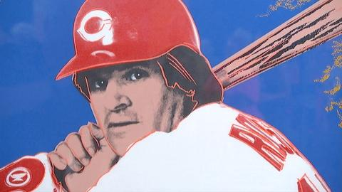 "Antiques Roadshow -- S18 Ep1: Appraisal: 1985 Warhol ""Pete Rose"" Screen Print"