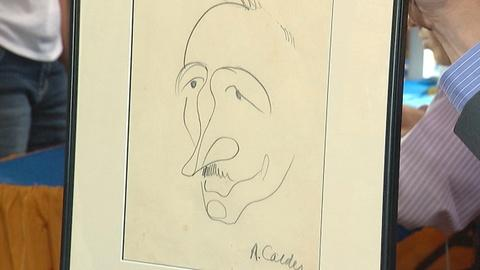 Antiques Roadshow -- S18 Ep1: Appraisal: 20th-Century Alexander Calder Drawing