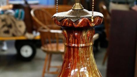 Antiques Roadshow -- S18 Ep2: Appraisal: Dalpayrat Lamp with Katona Iron Mount
