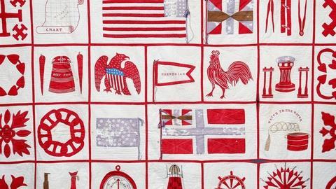 Antiques Roadshow -- S18 Ep2: Appraisal: 1867 Nautical Quilt