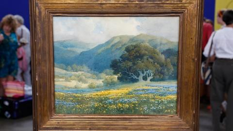Antiques Roadshow -- S18 Ep2: Appraisal: Percy Gray Watercolor, ca. 1930