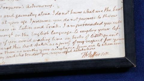 Antiques Roadshow -- S18 Ep3: Appraisal: 1822 Thomas Jefferson Letter