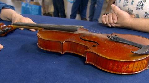 Antiques Roadshow -- S18 Ep3: Appraisal: 1928 Eugene Meinel Violin