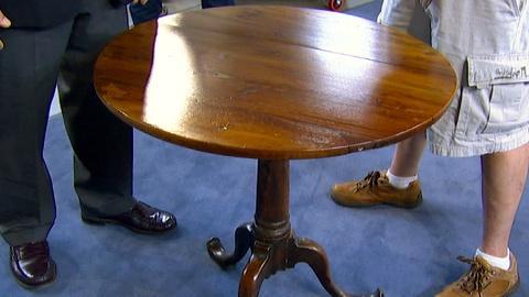Antiques Roadshow -- S18 Ep3: Appraisal: Bermuda Tea Table, ca. 1780